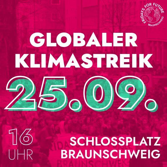 #KeinGradWeiter – Globale Demo am 25. September 2020